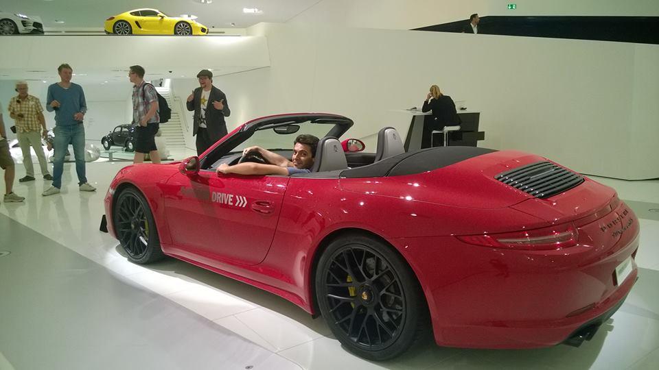 Porsche (Magnum Çubuğundan Çıktı)