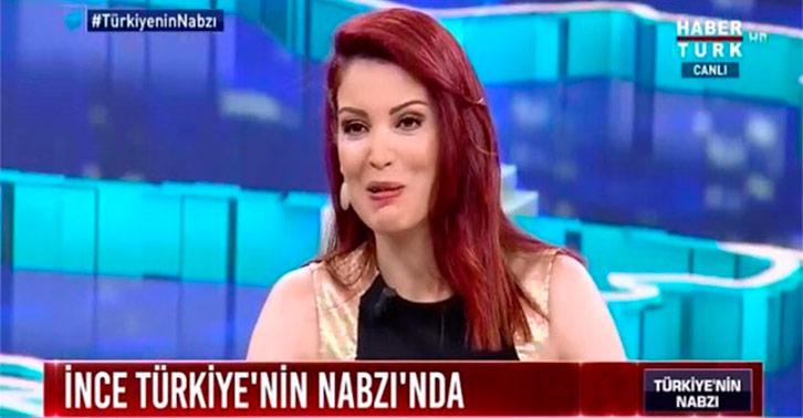"""Nagehan Alçı, Muharrem İnce'ye sert çıktı: """"Hebelübe helbüebü."""""""