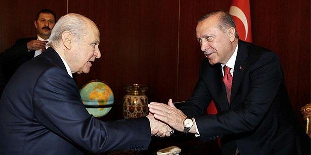 AKP ve MHP, CHP 'ye verilmeyen tüm oyların AKP-MHP ittifakına sayılacağı bir seçim sistemi üzerinde uzlaşmaya vardı...