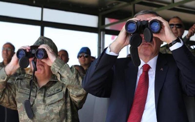 Çanakkale'deki Yığınağını Tamamlayan TSK, Büyük Taarruz İçin Başkomutan Erdoğan'ın Talimatını Bekliyor...