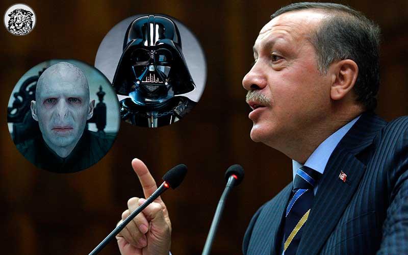 """Cumhurbaşkanı Erdoğan: """"Üniter yapılarda başkanlık niye olmasın! Bakın Voldemort'a,  Darth Vader'a..."""""""