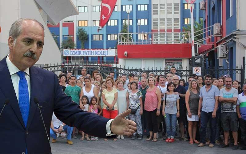 """FETÖ Okulu Zannedilerek Kapatılan İzmir Özel Fatih Koleji'ne Hükumetten Sert Tepki: """"Madem Örgütten Değilsiniz Adınız Neden Fatih?"""""""