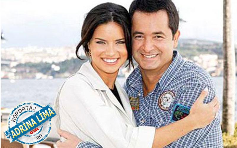 """Adriana Lima - Acun Ilıcalı aşkını Lima anlattı: """"Acun TV8'i Üstüme Yapacak."""""""