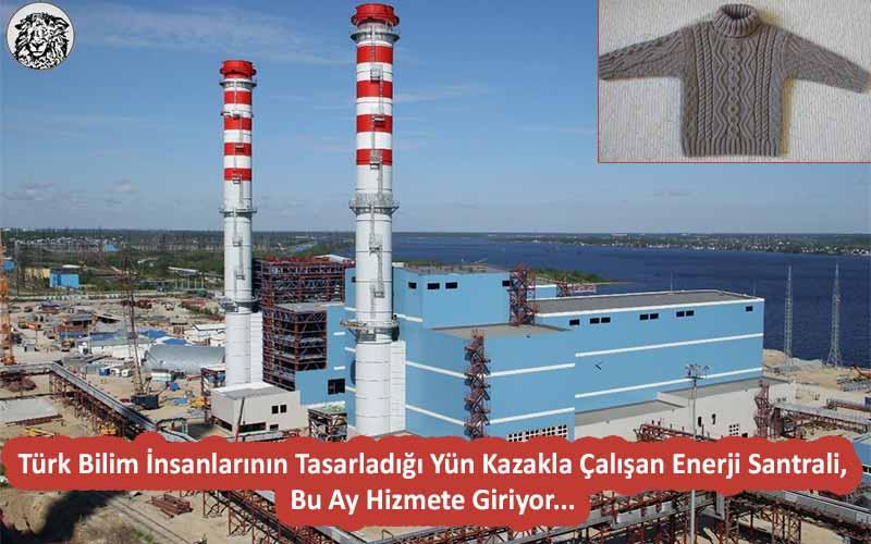 Türk Bilim İnsanlarının Tasarladığı Yün Kazakla Çalışan Enerji Santrali, Bu Ay Hizmete Giriyor...