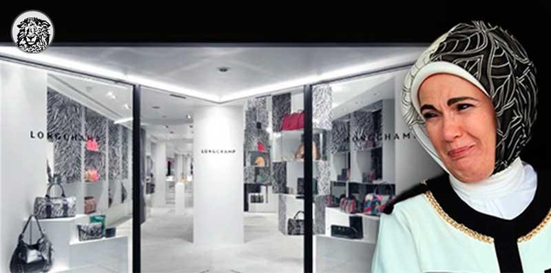 Emine Erdoğan'ın Beğendiği Çantayı Hala İndirime Sokmayan Mağazaya Kayyum Atandı.