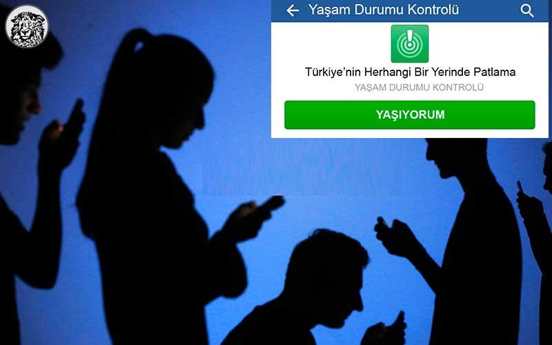 Facebook, Türkiye İçin ''Yaşıyorum'' Butonu Koymaya Hazırlanıyor...