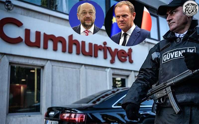 """Cumhuriyet Gazetesi Operasyonuyla İlgili Olarak """"Kaygı Verici"""" Açıklamasını Yapacak İlk AB Temsilcisi Merakla Bekleniyor…"""