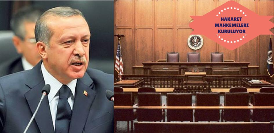 Adalet Bakanlığı, Sayısı Hızla Artan Erdoğan'a Hakaret Davaları İçin Ayrı Bir Mahkeme Kurmaya Hazırlanıyor