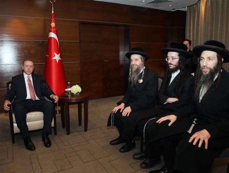 """Erdoğan'la görüşen Neturei Karta Cemaati: """"Yeni cemaat biziz demek için henüz erken."""""""