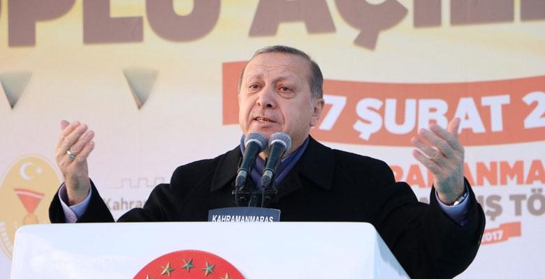"""Erdoğan 'Hayır'cılara yüklendi: """"Yahu halk belki diktatörlük istiyor size ne ya?"""""""
