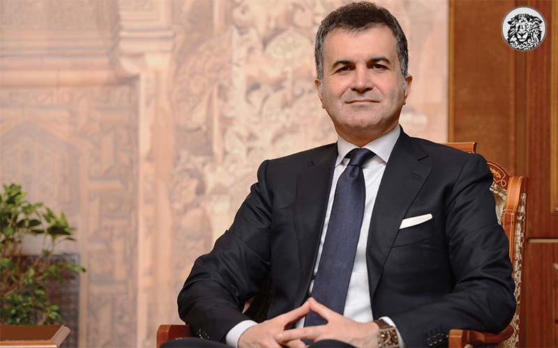 """Ömer Çelik: """"Avrupa Birliği Bakanı Olarak Öncelikli hedefim Ortadoğu Daimi Üyeliği"""""""