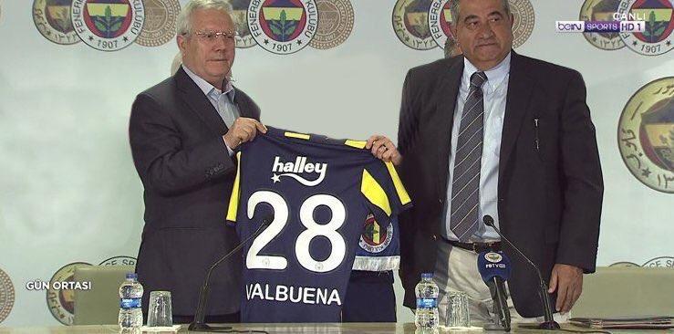 İmza töreninde gözler Valbuena'yı aradı...