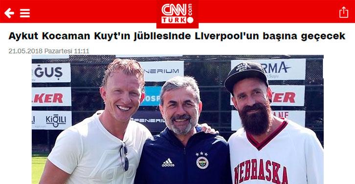 Kuyt'ın, jübilesinde yedek soyunması bekleniyor...