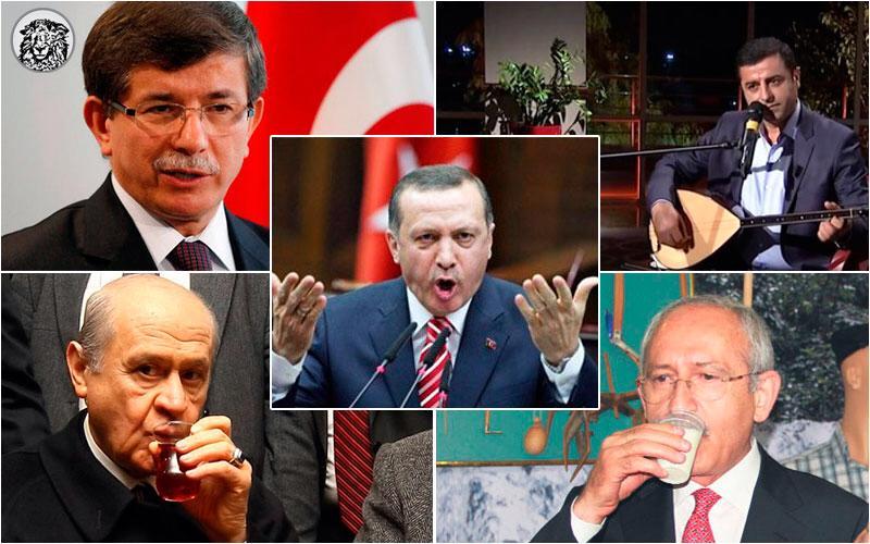 """Liderlerin """"Gür Ses"""" Sırları: Demirtaş Sazına, Davutoğlu Playback'e, Bahçeli Çaya, Kılıçdaroğlu Ballı Süte, Erdoğan İse Sır Bir Formüle Güveniyor…"""