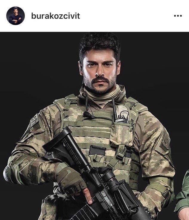 Bedelli askerlik yapan Burak Özçivit, Afrin Operasyonu'na öncü güç olarak katılıyor...