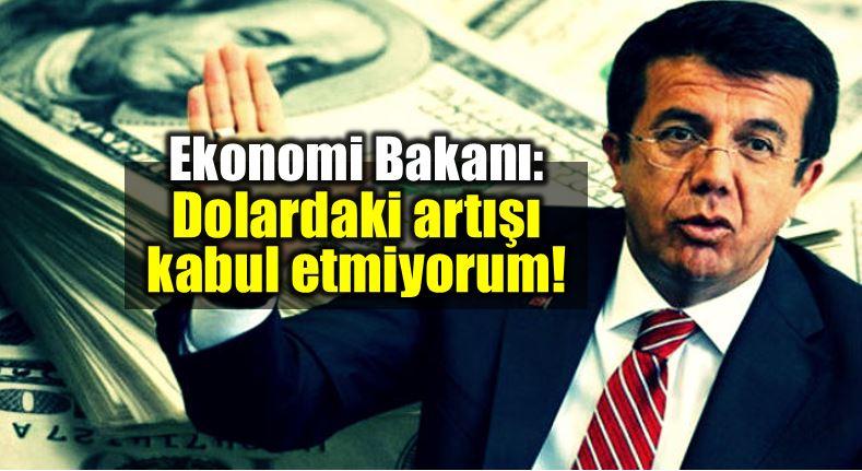Nihat Zeybekçi'nin kabul etmediği dolar kuru ABD'ye geri yollandı...