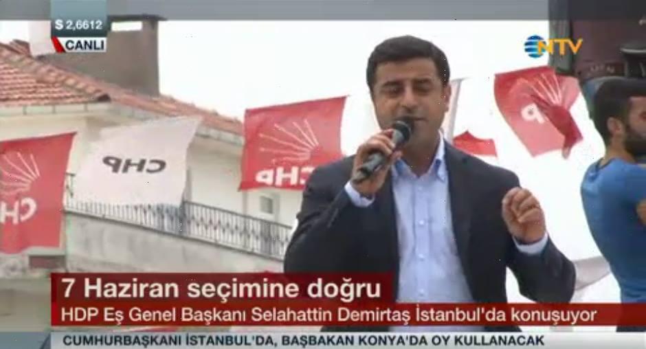 Trafo patlamasının ardından Demirtaş'tan ilginç kamufle...