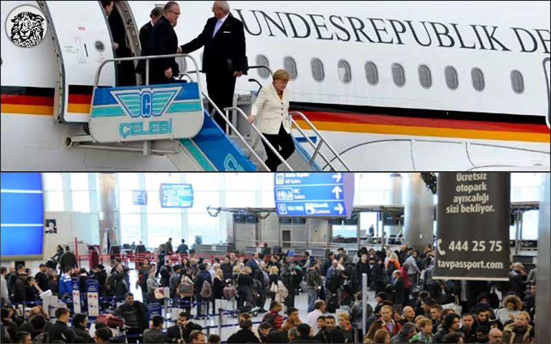 Göçmen Meselesi İçin Erdoğan'ı Ziyaret Eden Merkel, Türkiye'yi Terk Etmeye Hazırlanan Muhalifler İçin Yeniden Gelmeyi Planlıyor...