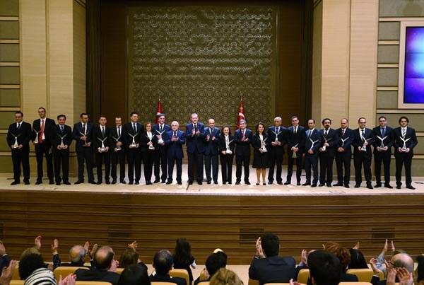 TÜBİTAK Bilim ve Teşvik Ödülleri AK Parti Bünyesinde Gerçekleştirilen Sade Bir Törenle Sahiplerini Buldu