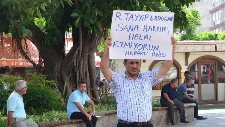 """Milliyet: """"Pankarttaki R. Tayyip Erdoğan bakın kim çıktı!"""""""