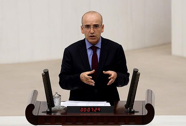 """Mehmet Şimşek: """"2015'deki bütçe açığı beklentimiz en fazla şu kadar..."""""""
