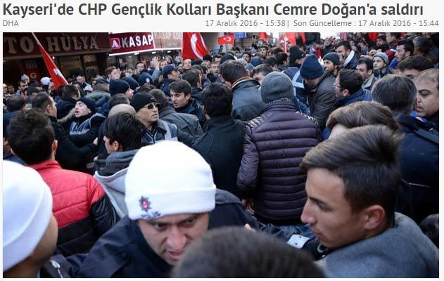 Halk, Kayseri saldırısının failini belirledi...