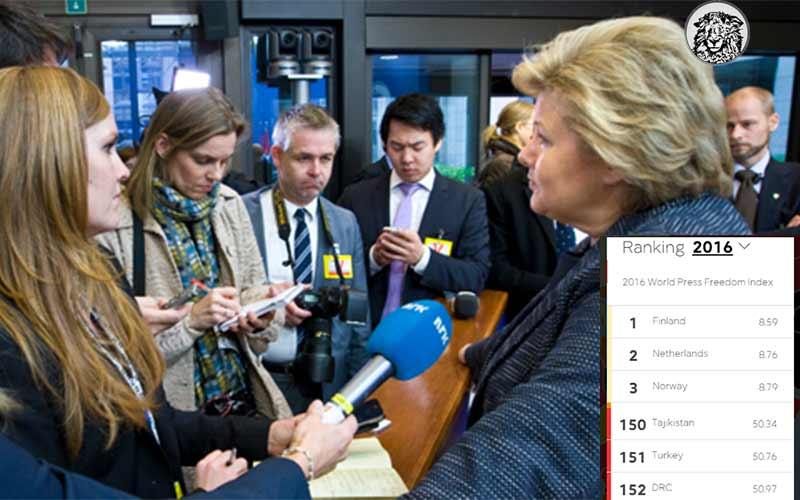 Basın Özgürlüğü Sıralamasında 5 Yıldır 3. Olan Norveç'te Hükümet İstifa Etti…