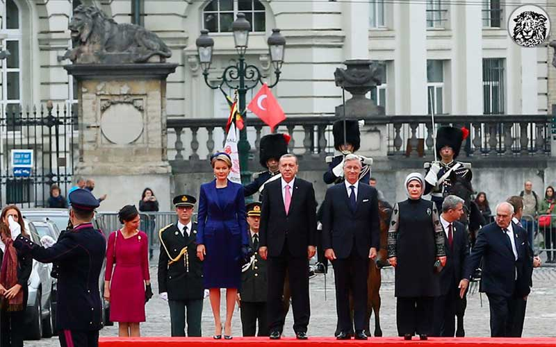 Belçika Hükümeti, Emine Erdoğan'ın Ziyaretinin Ardından Siyasi Temasların Damsız Gerçekleştirilmesine Karar Verdi...