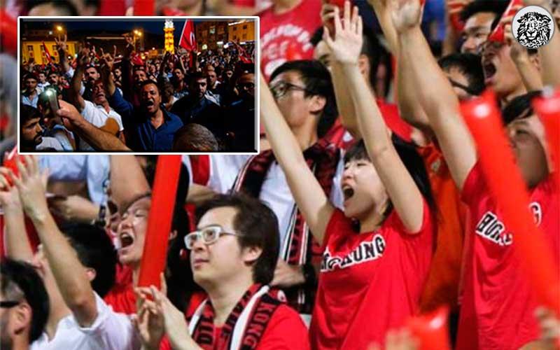 Kendi Milli Marşını Yuhalayan Hong Kong Taraftarına, Ülkü Ocaklarından İş Birliği Teklifi