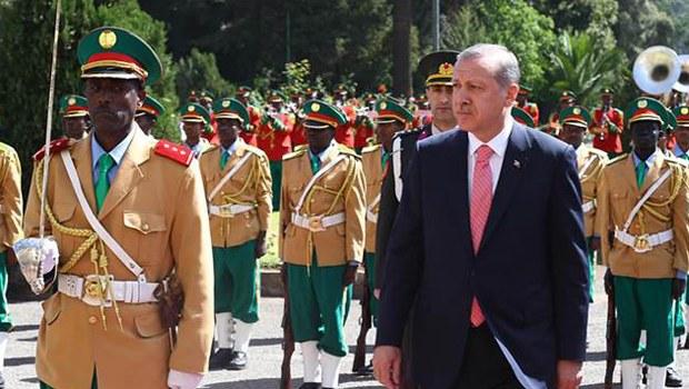 """Erdoğan: """"Bu benim sarayda iyi durur aslında..."""""""