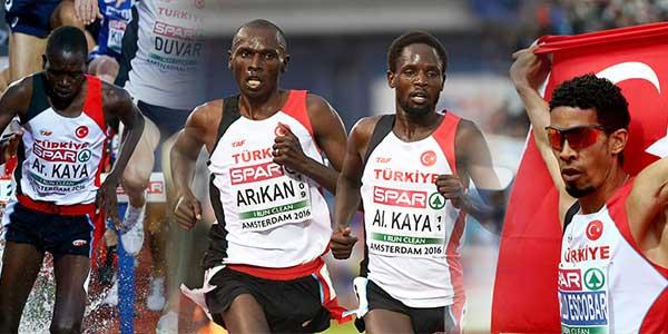 Avrupa atletizm şampiyonasında Afrika asıllı atletlerin öncülüğünde başarıyı yakalayan Türkiye'de gözler A Milli Futbol Takımı'na çevrildi...