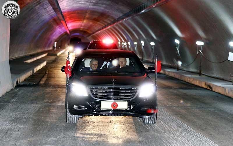 Yetkililer, Avrasya Tüneli Açılışıyla Beş Canlı Bombalık Moral Depoladı...