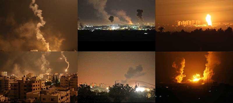 İsrail, Türkiye ile yaptığı Anlaşmanın TBMM'de onaylanmasını Gazze'yi bombalayarak kutladı.