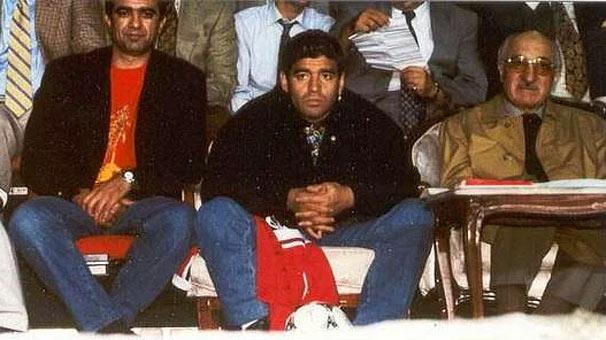"""Maradona: """"Beni Hakan Şükür kandırdı."""""""