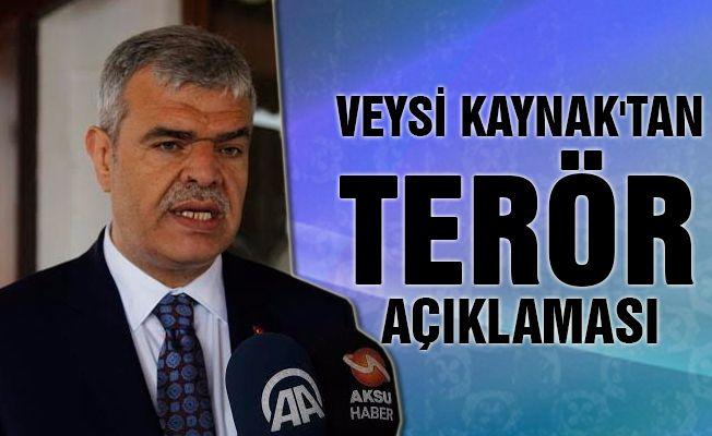 """Başbakan Yardımcısı Veysi Kaynak: """"Kayseri'deki patlama... Bakınız Türkiye Halep'teki kardeşlerine sahip çıkıyor."""""""