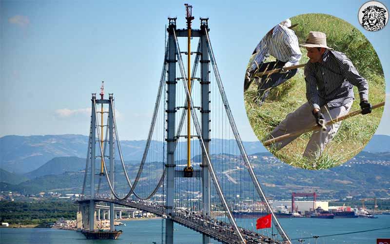 Bayramda Osmangazi Köprüsü Bedava İken Yalova Tarafına Geçen M.Ç.(30-İşsiz), Geri Dönebilmek İçin Günlüğü 30 Liradan 3 Gün Irgatlık Yapacak...