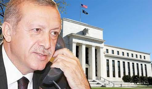 """Erdem Başçı'yla Geçici Ateşkes Sağlayan Erdoğan, Amerikan Merkez Bankası Başkanı'na Seslendi: """"Eee, Sen N'aptın?"""""""