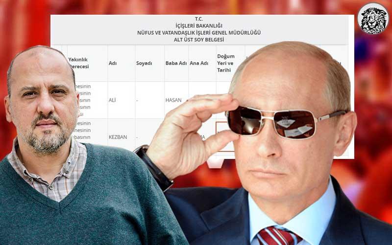 Alt-Üst Soyların Açıklanmasıyla Kafkasya Göçmeni Olduğu Öğrenilen Tutuklu Gazeteci Ahmet Şık İçin Putin'in Devreye Girmesi Bekleniyor.