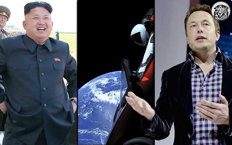 """Elon Musk'ın Uzaya Roket Fırlatmasıyla İlgili Kuzey Kore'den Açıklama: """"Yere Düşmeyecek Roketi Niye Atıyorsunuz Aga?"""""""