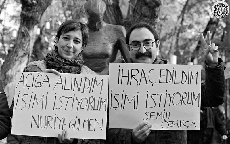 """Açlık Grevi Yapan Nuriye Gülmen ve Semih Özakça'nın Tutuklanmasına İlişkin Hükümetten İlk Açıklama: """"Devlet Milletini Aç Bırakıyor Dedirtmeyiz!"""""""