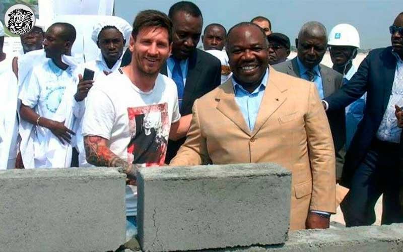 """Stat Açılış Temel Töreni İçin Lionel Messi'ye 3.5 Milyon Euro Veren Gabon Hükümeti Endişeli : """"Ee Stadı Ne İle Yapacağız Şimdi?"""""""