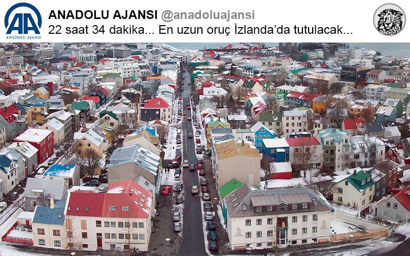 22 Saat 34 Dakika ile En Uzun Orucu Tutacaklarını Duyan İzlandalılar Sokaklara Döküldü