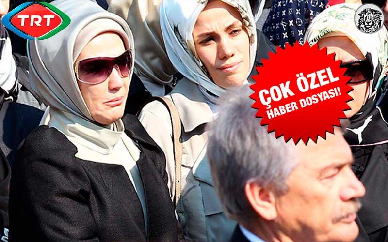 TRT, Emine Erdoğan'ın Akrabalarının Cenaze Yayın Haklarını 5 Yıllığına Satın Aldı...