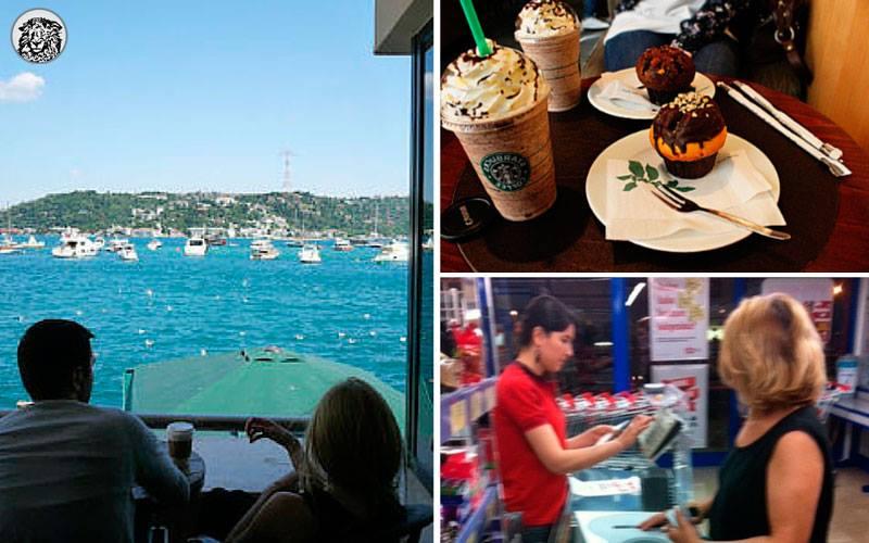 Hafta Sonu Starbucks'ta Kahve İçen Genç Çift, Hafta İçi BİM'de Alışveriş Yaparken Görüntülenmenin Şokunu Yaşıyor...