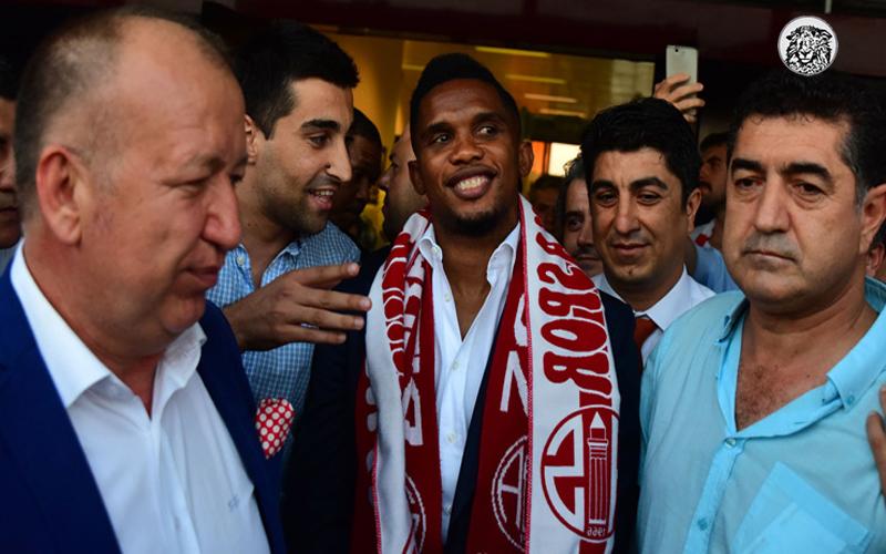 Antalya'ya Gelen Samuel Eto'o Sağlık Kontrollerinin Ardından Denize Girecek...