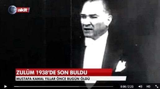 Atatürk'ün engellemesi yüzünden uzay araştırması yapamayan Akit geleneği, zulmün bitiş yıldönümünü coşkuyla kutladı...