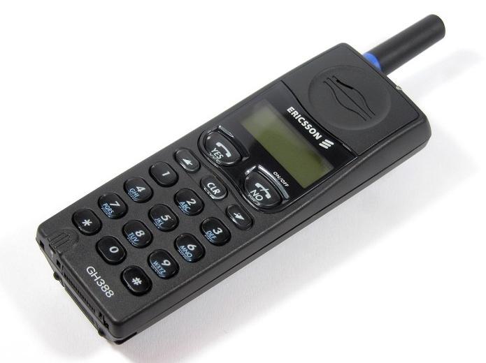 Teknoloji Harikası Ericsson Telefon (Boşluk tuşu 1)