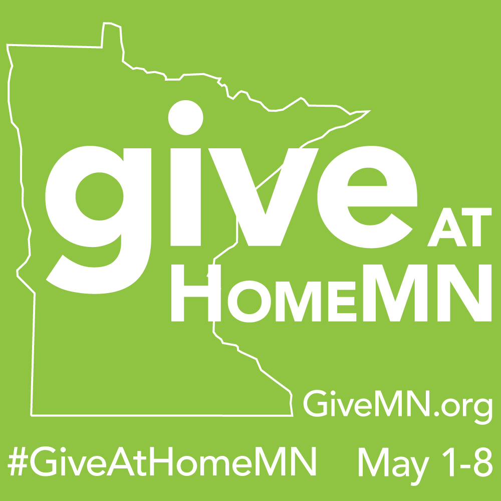Give At Home MN logo