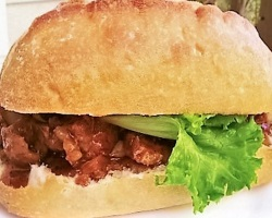 Korean BBQ Pork Sandwich
