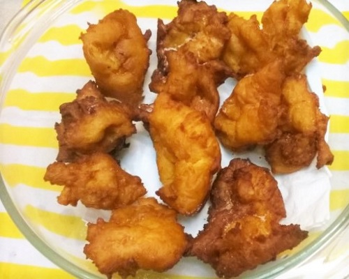 Sweet Potato Malasada
